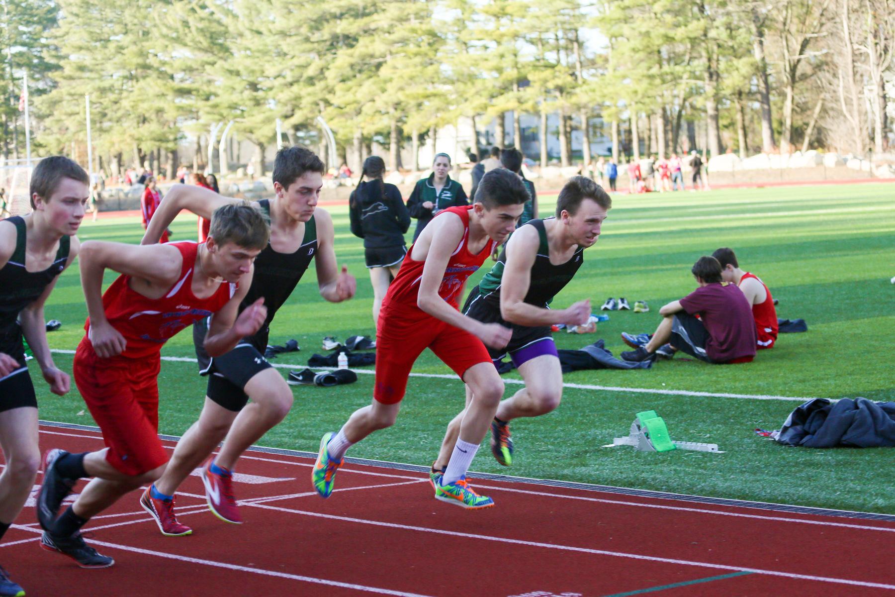 new england high school track meet 2012