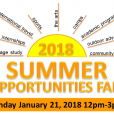 Summer Opportunities Fair